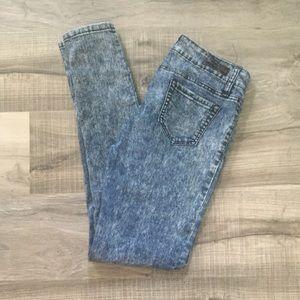 YMI super skinny stone washed jeans. Size 9